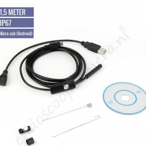 54146 Android 1,5m Endoscoop camera (6 leds) afb0