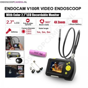 NTS100R 8,2mm Video Endoscoop + opname (1-5m) 0