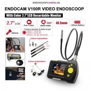 NTS100R Video Endoscoop diverse mogelijkheden