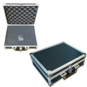 54203 Aluminium koffer met rasterschuim & slot (type 2) 01