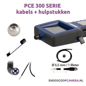 PCE 300N serie kabels en hulpstukken