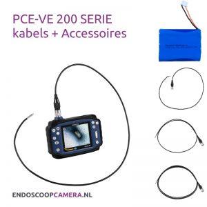 PCE VE-200N Serie Kabels + Accessoires