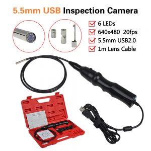 5-5mm-USB-Endoscope-6-LEDs-Inspection-Snake-Camera-Borescope-Magnet-Hook-Mirror-car-diagnosis-Free