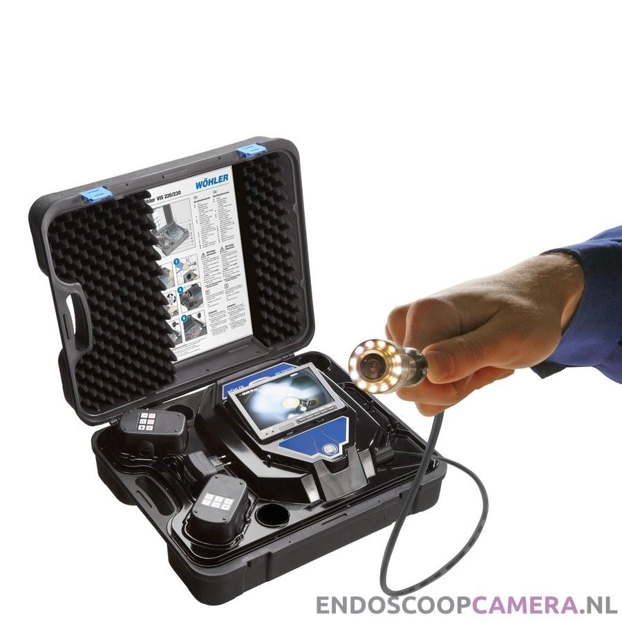 Goede Wöhler VIS 200-20m Rioolcamera / video endoscoop 20m (Ø26mm RB-96