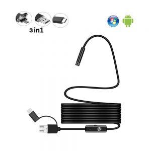 Nieuw USB Endoscoop Camera's / Android Endoscoop camera's VU-53